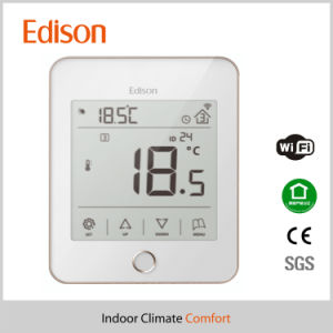 Smart Internet of Things Heating Room Thermostat for Ios Android Supported pictures & photos