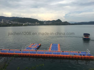 HDPE Pontoon Single Economical Floating Dock pictures & photos