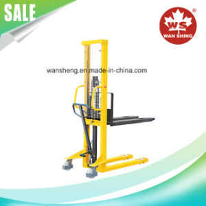 1500kg High Quality Hand Pallet Truck Lift Stacker (SDJ1500) pictures & photos