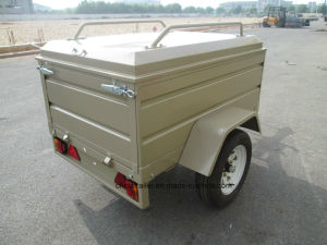 Hot Dipped Galvnised Food Trailer with Canopy pictures & photos