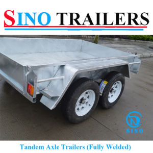 Australian Galvanized Tandem Box Trailer