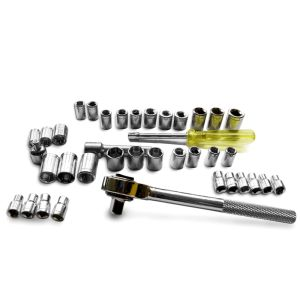 "40PCS Professional Hand Tool Set 1/4""&3/8"" Combination Drive Socket Set pictures & photos"