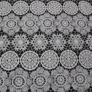 New Style Cotton Chemical Lace Fabric pictures & photos