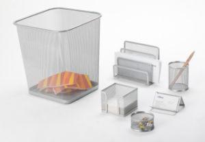 Desktop Accessories Set/ Metal Mesh Stationery Office Set/ Office Desk Accessories pictures & photos