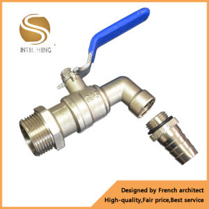 Bibcock; Chrome Plated (natural colour) ; European Style Brass Tap pictures & photos