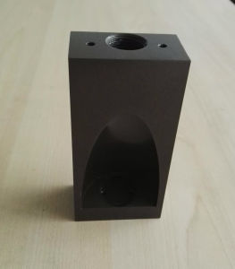 CNC Machined Aluminum Outdoor Light Parts with E-Coating and Painting pictures & photos