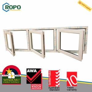 Australian Standard As2047 PVC Profile French Windows with As2208 Glass pictures & photos