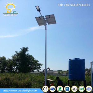 3-12meters Solar Street Light Pole with Solar Panel pictures & photos