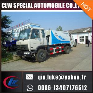 China Brand 10cbm 15cbm 18cbm Compressed Waste Garbage Compactor Truck pictures & photos