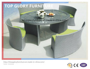 Outdoor Furniture with Table and Chairs (TG-1608) pictures & photos