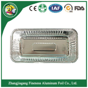 Take-Away Aluminum Foil Food Container-F8017 pictures & photos