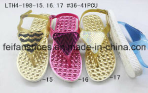 New Arrival Casual Sandals Women Slippers Customized Flip Flops (FFLT1017-05) pictures & photos