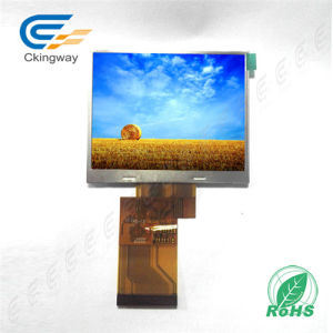 "3.5"" 240*320 300 CD/M2 54 Pin TFT Display pictures & photos"