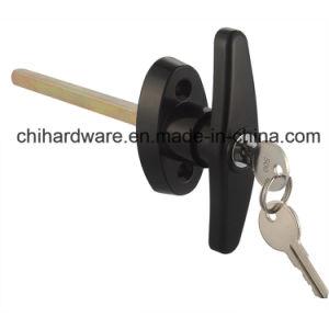 T-Handle Locks for Sectional Garage Door Hardware, T-Handle Lock for Shed Door pictures & photos