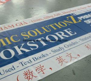 13oz High Resolution Outdoor Advertising Block-out Vinyl Banner (SS-VB107) pictures & photos