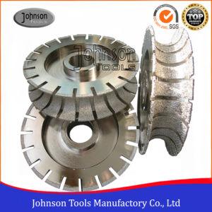 140-350mm Full Bullnose Vacuum Brazed Profiling Wheel for Stone Shaping pictures & photos