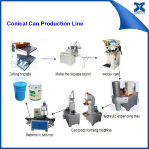 Paint Conical Barrel Can Packing Machine pictures & photos
