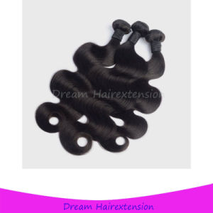 Unprocessed Natural Black 18inch Peruvian Hair Body Wave pictures & photos