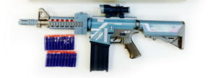 Plastic Shooting Gun with EVA Bullet Funny for Boys pictures & photos