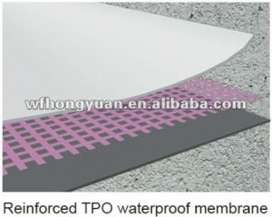 Single-Ply Roofing System Tpo Memrbane Sheet pictures & photos