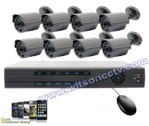 8 Channel DVR Camera System, DVR Surveillance System, DVR System, P2p, Free DDNS, Smartphone Viewing pictures & photos