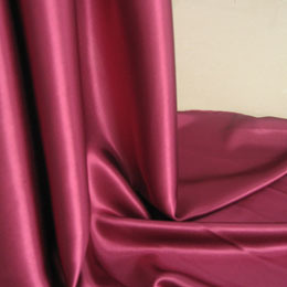 100%Polyester Charmeuse Satin Fabric for Garment/Dress