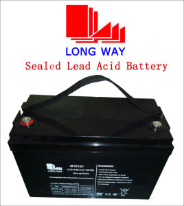 12V120s Maintenance Free Rechargeable Solar Sealed Rechargeable Lead Acid Battery pictures & photos