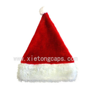2017 Plush Christmas Santa Hat (JRA011) pictures & photos
