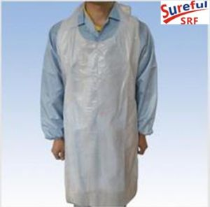 6g PE Disposable Apron (Hot Sale in Jeddah) pictures & photos