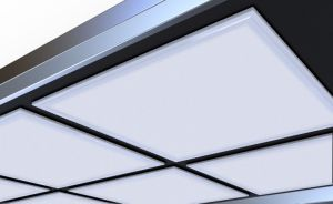 UL Dlc LED Panel Light with Driver Box Attached