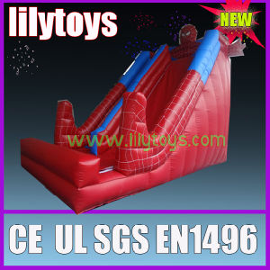 High Spideman Inflatable Slide for Children pictures & photos