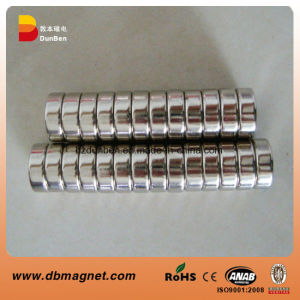 N42 Cylinder Neodymium Permanent Magnet for Motor Industry pictures & photos