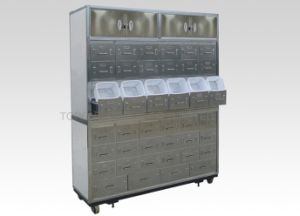 Stainless Steel Medicine Storage Cabinet / Cupboard