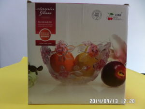 White Board Paper for Glass Fruit Bowl Package
