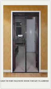 2014 New Magnetic Curtains Door Mosquito Screens