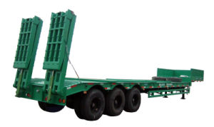 Cimc Heavy Duty Lowbed Trailer Truck Chassis pictures & photos