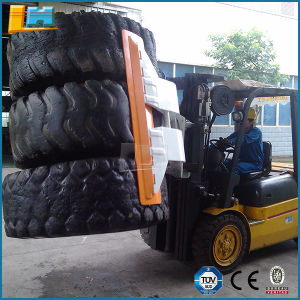 OEM Manufacturing Hydraulic Forklift Equipment 2t Capacity Tyre Rim Clamp