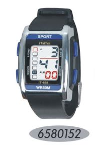 Hottest High Quality Silicone Sport Watch Men pictures & photos