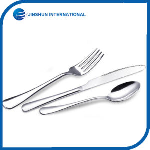 3PCS Kitchen Knife Fork and Spoon Set pictures & photos