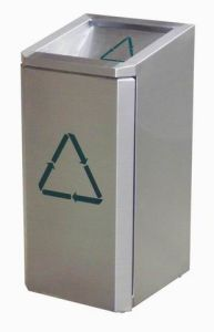 Stainless Steel Dustbin (TJ-DB-09)