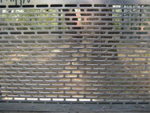 Kinds of Materials Oblong Hole Perforated Metal Sheet