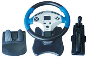 USB Steering Wheel for PS2 (Video Game Accessories)