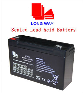 6V10ah Toys Sealed Rechargeable Lead Acid Battery pictures & photos