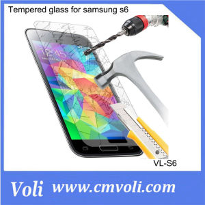100% Genuine 0.26 mm Tempered Glass for Samsung S6 pictures & photos