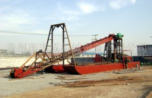 Chain Bucket Dredger for Digging Sand