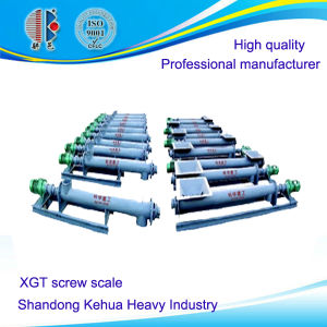 Xgt Screw Scale for Powder or Granular Material Measurement