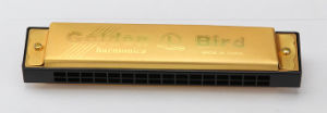 16 Hole C Key Aluminum Capping Harmonica (JH016-1)