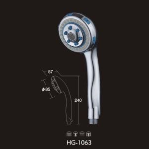 Shower Head (HG-1500) , ABS Material. Shower Handle