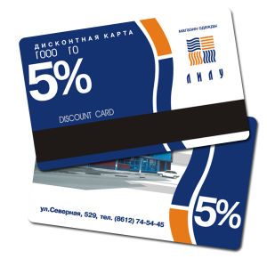Discounting Plastic Card pictures & photos