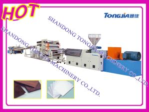 PVC Sheet Extruder Extrusion pictures & photos